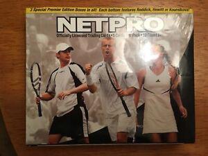 2003 NetPro Tennis Unopened Box of 18 Packs - Serena Williams Rookie