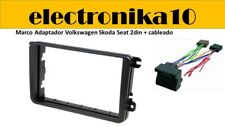 Volkswagen Seat Skoda Marco de Montaje para Radio Doble DIN  kit cableado