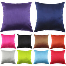 Pillow Case Solid Color Office Car Home Bed Sofa Decoration Cushion Cover