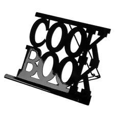 Premier Housewares 29x22x19cm Black Enamel Cook Book Stand Recipe Rack Holder