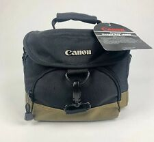 Canon Gadget Bag 100EG/Black/NWT Comes with Two Dividers and Strap
