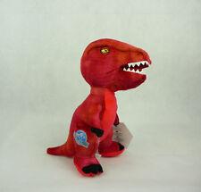 Jurassic World Plüsch Kuscheltier 20cm stehend Dinosaurier Rot Raptor
