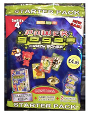 GoGo's Crazy Bones Series 4 Starter + Sealed Booster Box of Trading Card Game