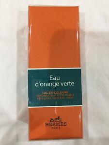 Hermes D'orange Verte by Hermes Eau de Cologne Refillable Spray 1.6 oz