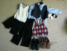 Lot of boy's clothing and two pairs of boy's shoes