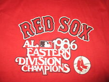 Original Trench 1986 American League Champions BOSTON RED SOX (LG) T-Shirt