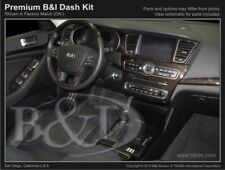 Dash Trim Kit for KIA CADENZA 14 15 16 17 carbon fiber wood aluminum