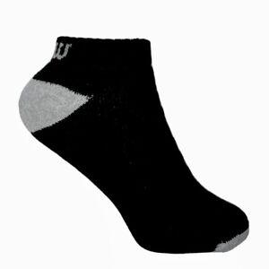 Socks Wilson Low-Cut Performance Black Socks Unisex Adult 3-Pairs
