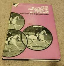 1967 OLYMPIC DRESSAGE TEST IN 123 PICTURES Horses Riders Gregor De Romaszkan /DJ