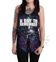 A Day To Remember Unisex Homesick Black Cotton Tank Top T-shirt Tour