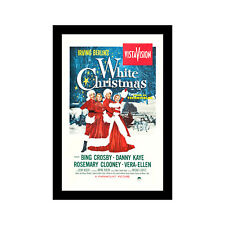 WHITE CHRISTMAS - 11x17 Framed Movie Poster by Wallspace