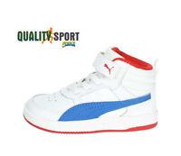 Puma Rebound Street Mid Bianco Scarpe Bambino Sportive Sneakers 363915 07 2018