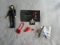 Playmates Toys:  1996 Star Trek First Contact:  Commander Deanna Troi