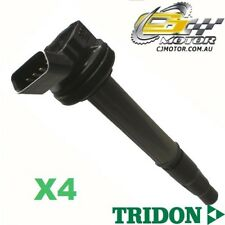 TRIDON IGNITION COIL x4 FOR Toyota Corolla ZRE152R 05/07-06/10, 4, 1.8L 2ZR-FE