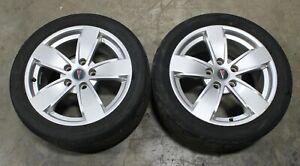 2004 2005 2006 Pontiac GTO 17x8 Silver Wheels Rims USED OEM GM (Qty.2) 92159045