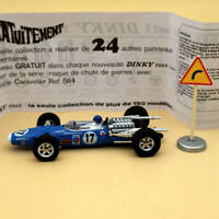 Atlas Dinky Toys 1417 MATRA F1 DUNLOP Alloy car #17 1:43 Diecast Models
