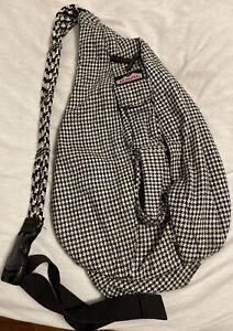 Alabama Crimson Tide Kavu Limited Ed. Houndstooth Crossbody Rope Sling Bag!