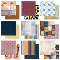 """Kaisercraft Journey 12x12"""" - Double Sided Craft Scrapbooking Paper Travel Rustic"""