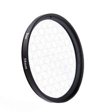 Universal 58mm 6PT 6 Cross Star Effect Lens Filter Four Point Line F DSLR Camera