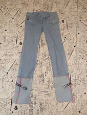 LIP SERVICE RARE GREASER SEDUCTION CHICK'S CUFF JEANS PANTS 27