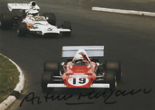 Arturo Merzario-FERRARI 1972, ORIGINALE AUTOGRAFO, SIGNED PHOTO