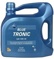 Aral BlueTronic SAE 10W-40 Motoröl MB, VW 4 Liter