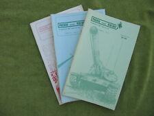 Three (3) issues PURSUE & DESTROY wargame magazine inc Vol III 1977 Larry Bost