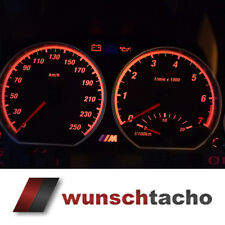 Tachoscheibe für Tacho BMW E46 Benziner *Ring*  250 kmh New