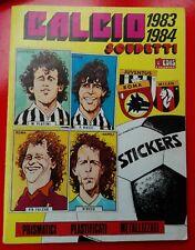 ALBUM FIGURINE EDIS 1983 1984  COMPLETO CALCIO SCUDETTI 83 84 OTTIMO
