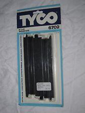 AD868 TYCO PAIRE RAILS 150 MM VOITURE CIRCUIT ELECTRIQUE Ref 6702