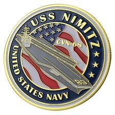 U.S. Navy USS NIMITZ / CVN-68 GP Challenge Coin 1130#
