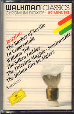 "ROSSINI SELECTION FROM THE BARBER OF SEVILLE+ WILLIAM TELL "" MUSICASSETTA NUOVA"