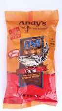 Andy's Seasoning Fish & Shrimp Breading ~ Cajun ~ 10 OZ ~ Best Before 07/11/20