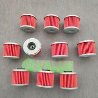10x Oil Filter For HONDA TRX450R CRF150R CRF150F CRF250R CRF250X CRF450R CRF450X
