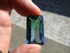 Stunning Faceted AMETRINE  ./ BOLIVIA 30.7 ct  Blue/Green