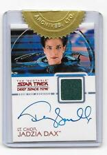 Star Trek DS9 Quotable Terry Farrell, Costume Material,  Autograph Card