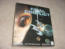 Final Conflict Real-Time Combat Strategy PC Game - 1997
