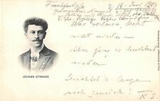 B99663 johann strauss composer famous people austria