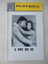 1972 - Walnut Street Theatre Playbill - 6 Rms Riv Vu - Jerry Orbach