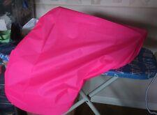 Pink,purple,red black or blue waterproof horse saddle cover travel or tackroom