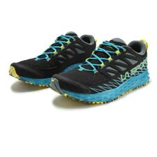 La Sportiva Mens Lycan Running Shoes Trainers Sneakers Black Blue Sports