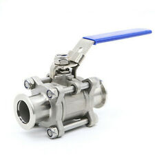 Ball Valve for Rough Vacuum Isolation, Both Sides KF25 Flange