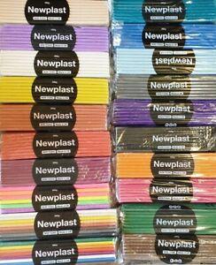 Newplast Plasticine Alternative, Modelling Clay 500g Packs - All Colours!