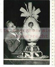 ORIGINAL PRESSEFOTO: JACQUELINE KENNEDY  auf OSTEREI von FRANCIOLO 1961 PARIS