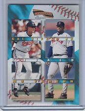 CAL RIPKEN Jr./MO VAUGHN 1996 Pinnacle Aficionado Rivals #3  (B5061)