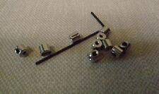 Locking Tie Tack Backs, Lapel Pins, Biker Vests, Police Collar Brass, W/Tool,New