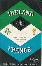 Irlande/France 1961 RUGBY programme