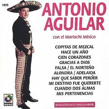 NEW Con el Mariachi Mexico by Antonio Aguilar (CD, Jul-1998, Balboa)