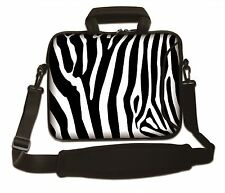 "17"" LAPTOP BAG WITH HANDLE & SHOULDER STRAP 4 ALL MAKES *FREE POST*STRIPES*"