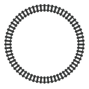 LEGO 16 x Curved Circle Train Track Pieces 75955 60205 60052